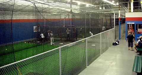 Pulled from on deck 39 s website yelp for Design indoor baseball facility