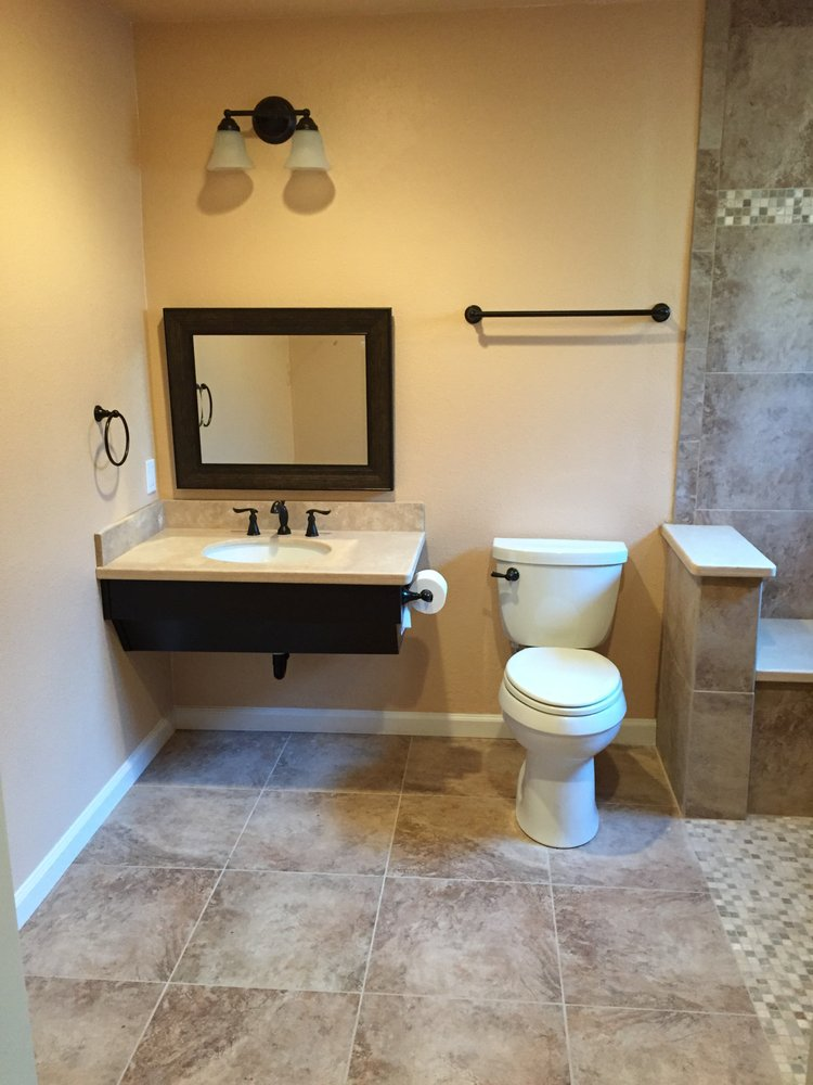 ADA Compliant Bathroom Stockton CA Yelp - Ada compliant bathroom tile