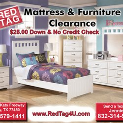 Bedroom Sets No Credit Check red tag mattress & furniture clearance - 36 photos & 12 reviews