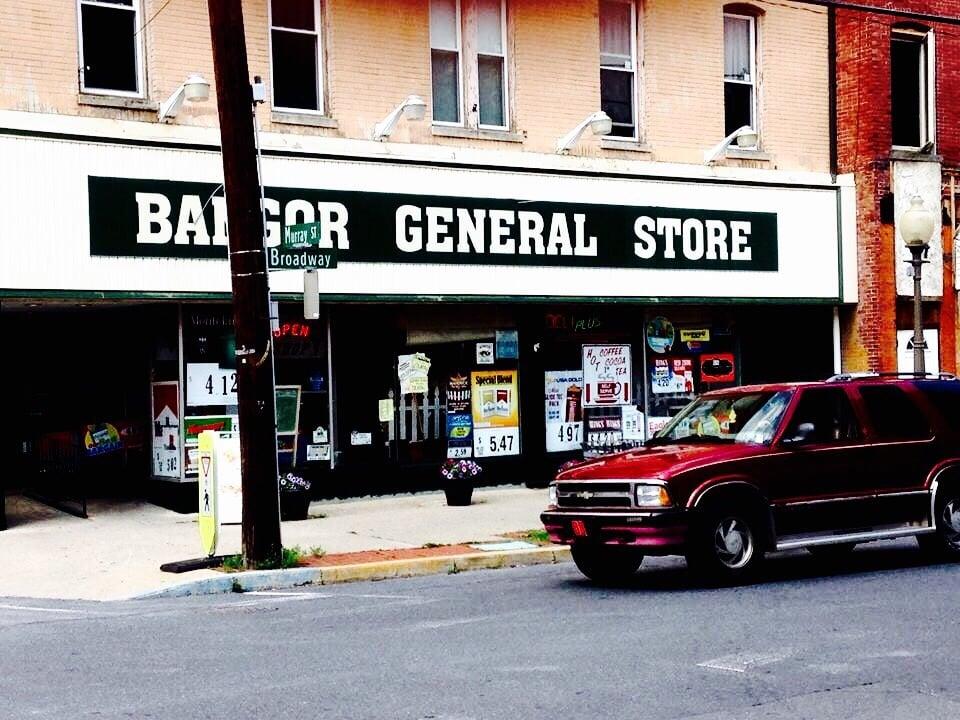 Bangor General Store: 39 Broadway, Bangor, PA