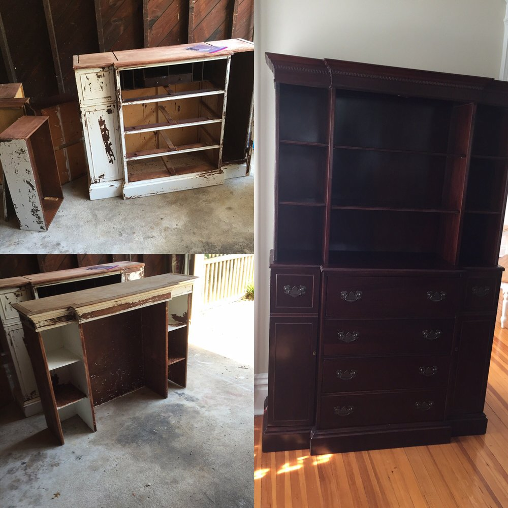 refinish a guide process chairs dining to cupboard from step wooden for furniture how by refinishing