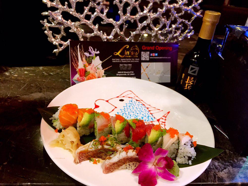 Lin's Asian Cafe: 2603 Woodruff Rd, Simpsonville, SC