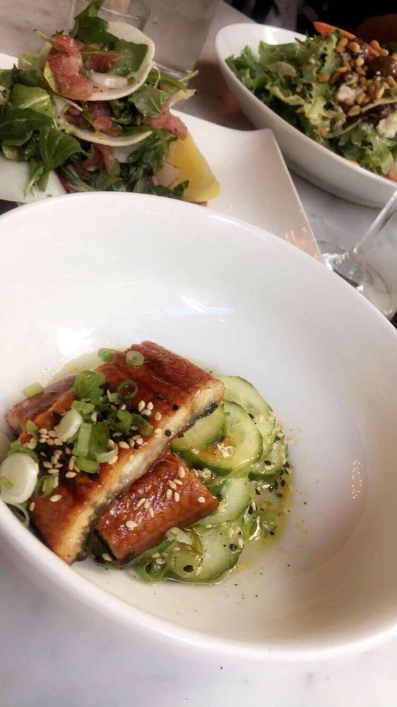 Unagi salad tuna tartare and farmers salad yelp for Gramercy farmer and the fish