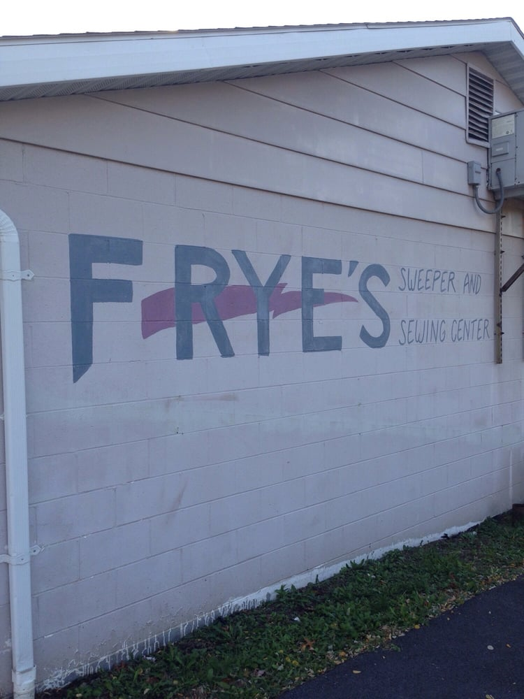 Frye's Sweeper And Sewing Center: 1400 Valley View Blvd, Altoona, PA