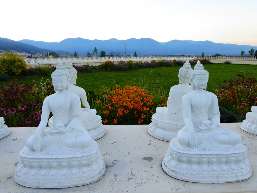 Ewam Garden of One Thousand Buddhas: 34574 White Coyote Rd, Arlee, MT
