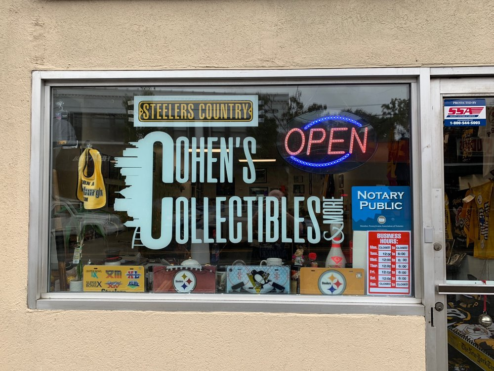 Cohen's Collectibles: 1124 S Braddock Ave, Pittsburgh, PA