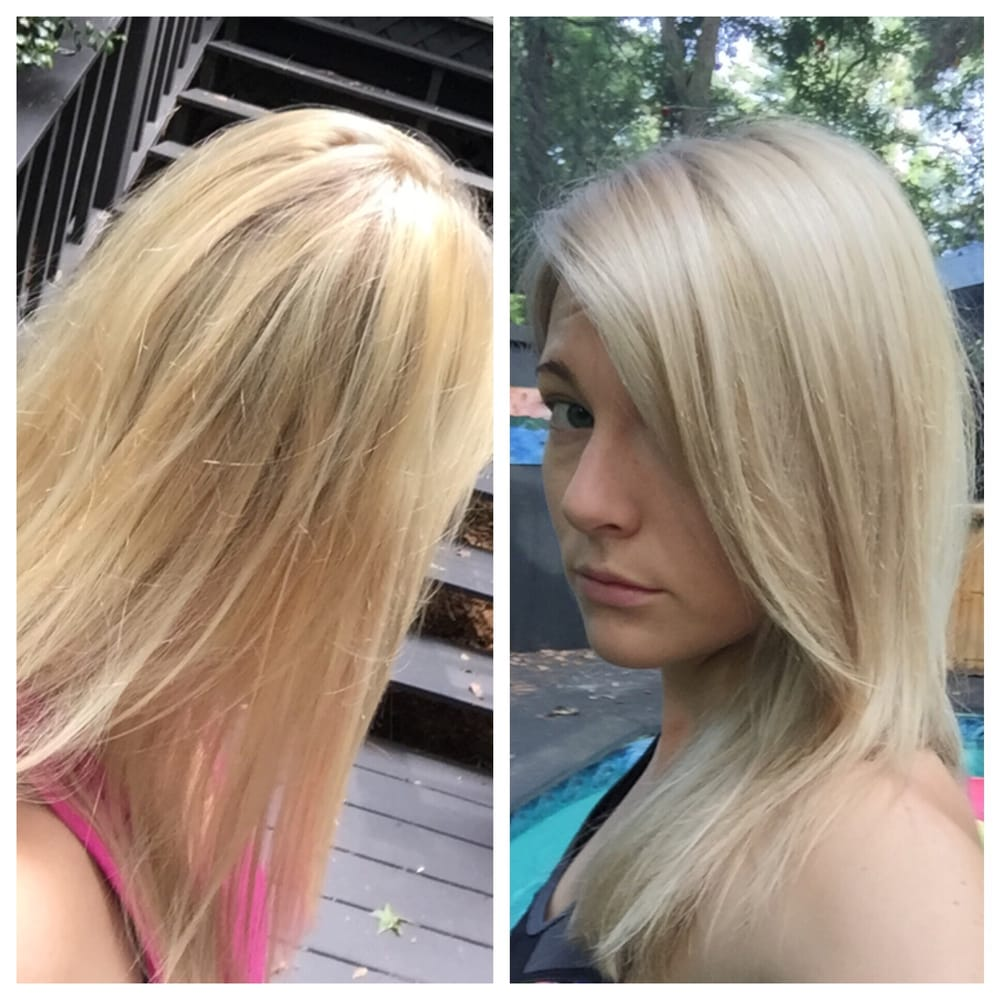Left Icky Yellow Orange Blonde Right Fixed At Gibson
