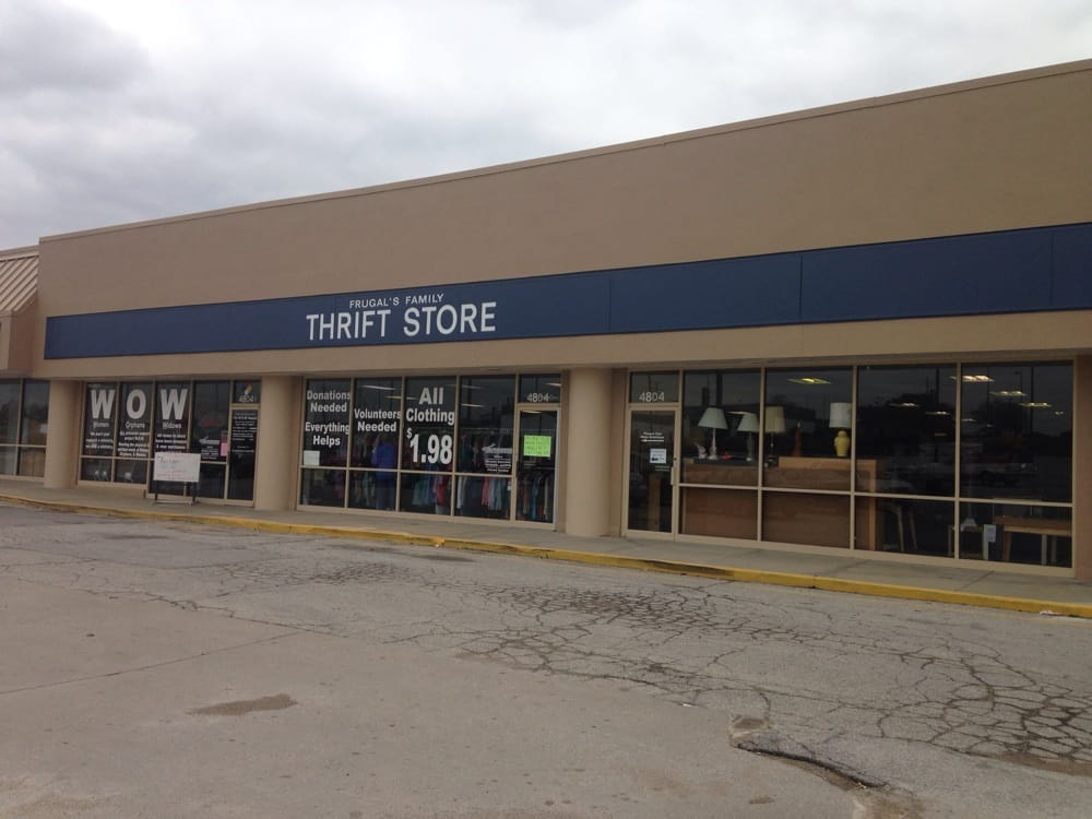 Frugal S Family Thrift Store Charity Shops 4804 S Noland Rd Kansas City Mo United States