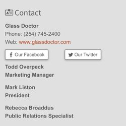 Glass Doctor - Corporate Office - Glass & Mirrors - Waco, TX