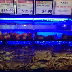 Super h mart 453 photos 261 reviews grocery for Fresh fish market houston