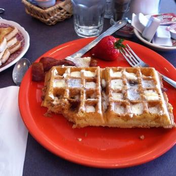 Photo Of Heidi S Family Restaurant Reno Nv United States Bacon Waffles