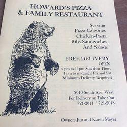 Howard S Pizza Villa 33 Reviews 2010 South Ave W Missoula Mt Restaurant Phone Number Menu Last Updated December 30