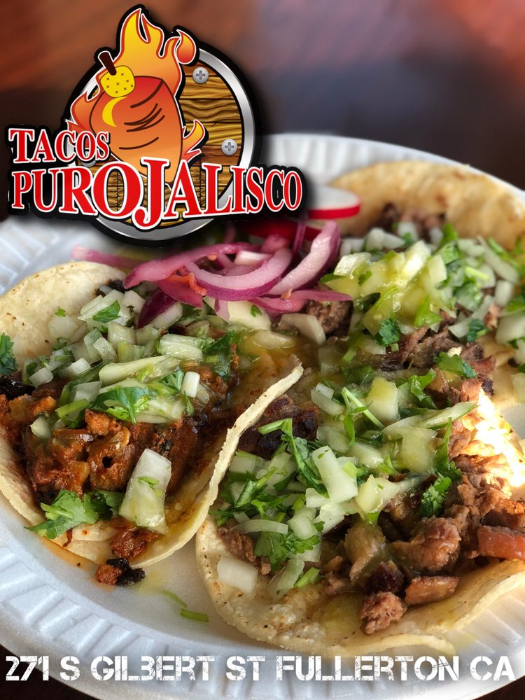 Food from Tacos Puro Jalisco