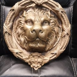 Photo Of Cheap N Chic   Grand Junction, CO, United States. Antique Lions.  Antique Lions Head Door Knocker ...