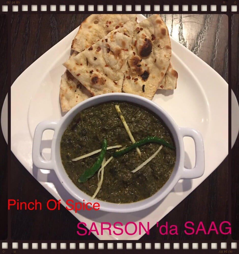 An authentic punjabi dish sarson ka saag it 39 s divine for 4 spice indian cuisine