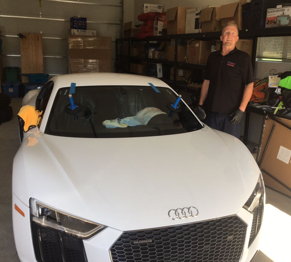 Windshield Replacement on 2017 Audi R8  Beautiful Car! - Yelp
