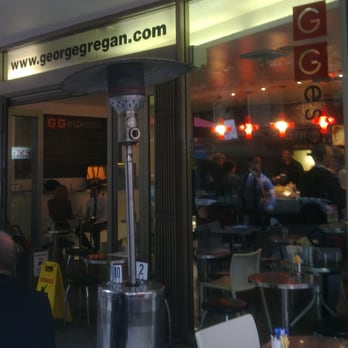 George Gregan Cafe Pitt Street