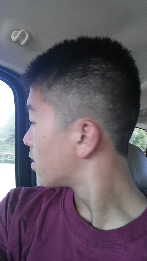 Lol Haircut Again 7 On Top 1 On Sides Yelp