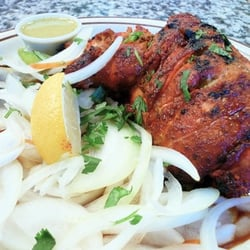 Photo Of Curry Leaves Indian Cuisine   Pleasanton, CA, United States.  Tandoori Chicken