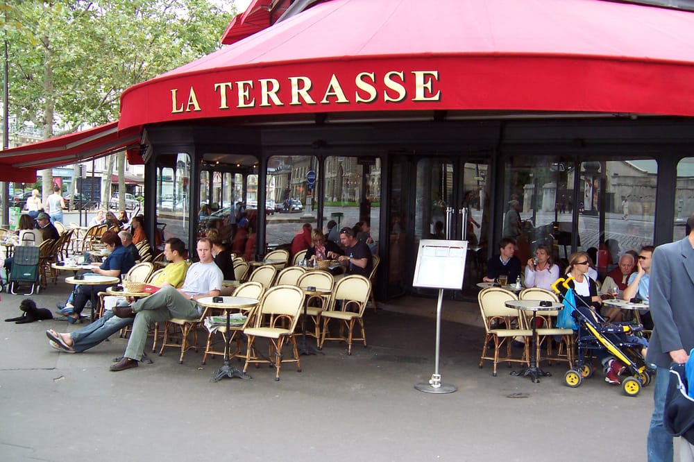 la terrasse 7e arrondissement yelp. Black Bedroom Furniture Sets. Home Design Ideas