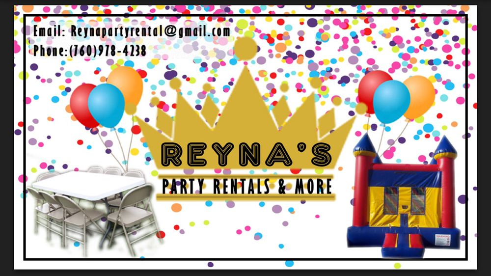 Reyna's Party Rentals And More: Fallbrook, CA