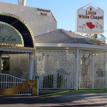 Photo Of A Little White Wedding Chapel Las Vegas Nv United States