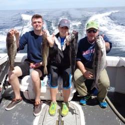 Sea fever fishing charters 10 fotos pesca 25 coach for Hampton beach deep sea fishing