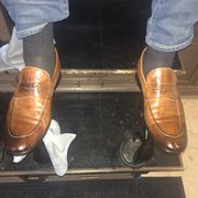 Shiny Shoes - Austin, TX, United States. After cleaning!