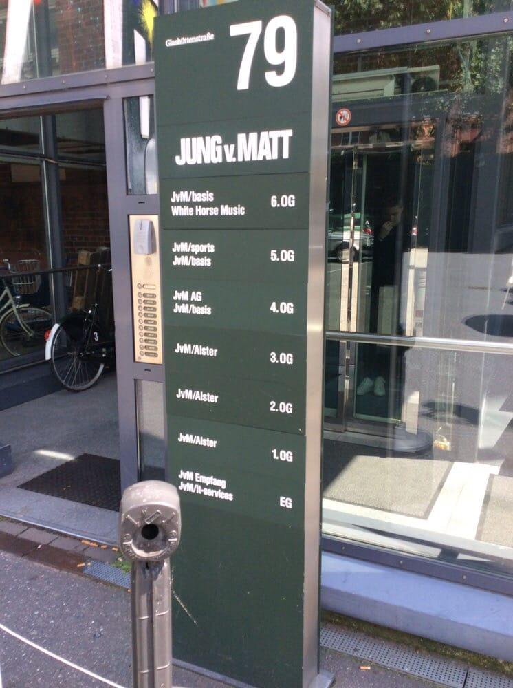 jung von matt marketing glash ttenstr 79 karolinenviertel hamburg deutschland. Black Bedroom Furniture Sets. Home Design Ideas