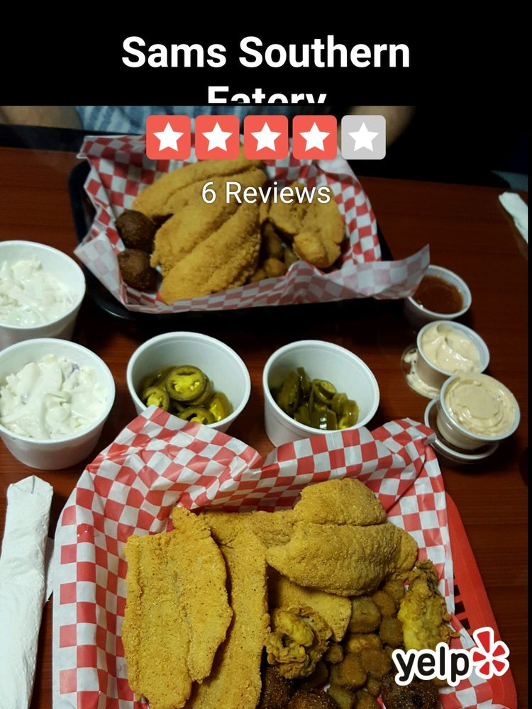 Sams Southern Eatery: 931 S Austin Ave, Denison, TX