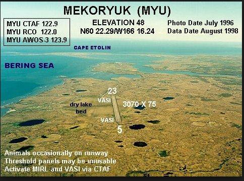 Photo of Mekoryuk Airport - MYU: Mekoryuk, AK