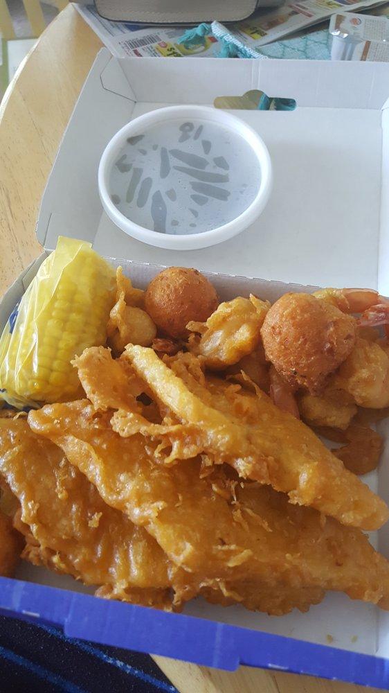Long john silver s seafood shoppe seafood 2206 e for Plenty of fish richmond va