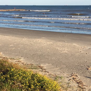 Photo Of Galveston Seawall Beaches Tx United States Beach With