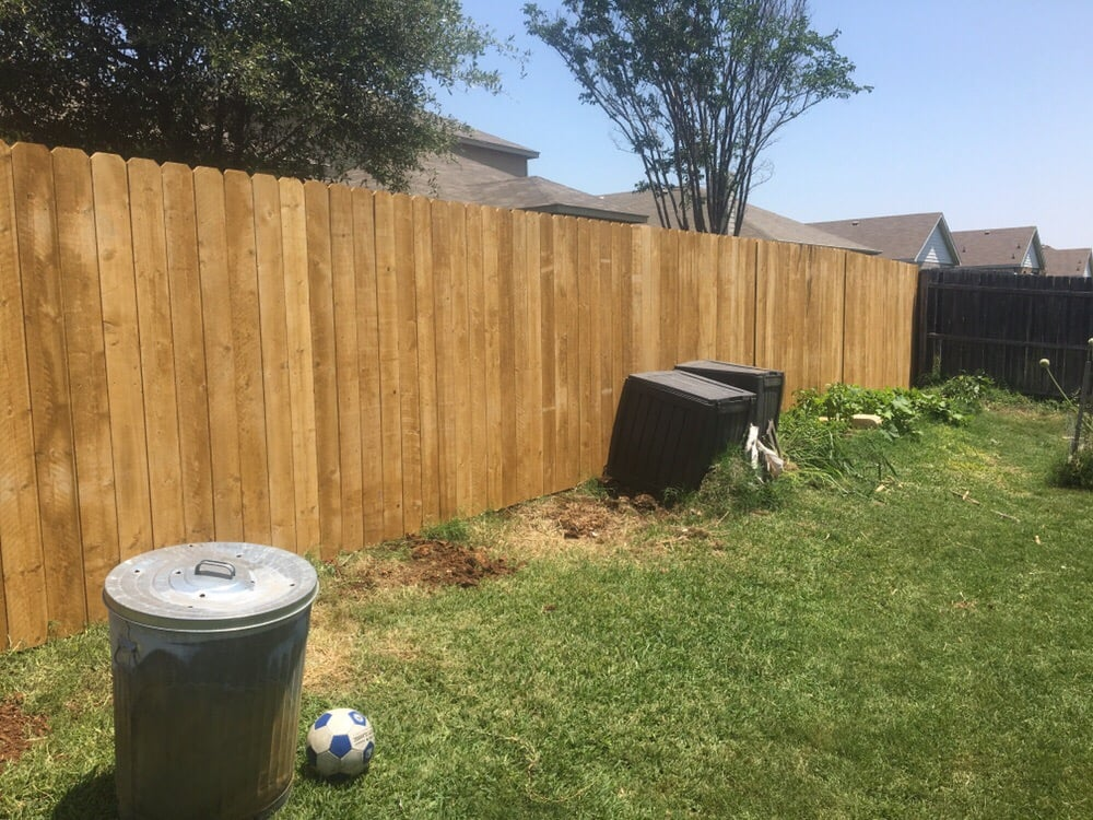 6ft Wood Picket Fence Removed Old Fence Replaced With