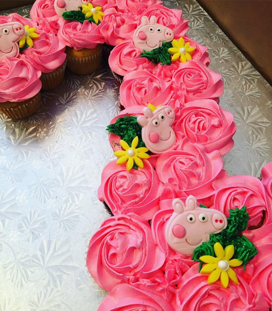 Peppa Pig 2 Pull Apart Cake Yelp