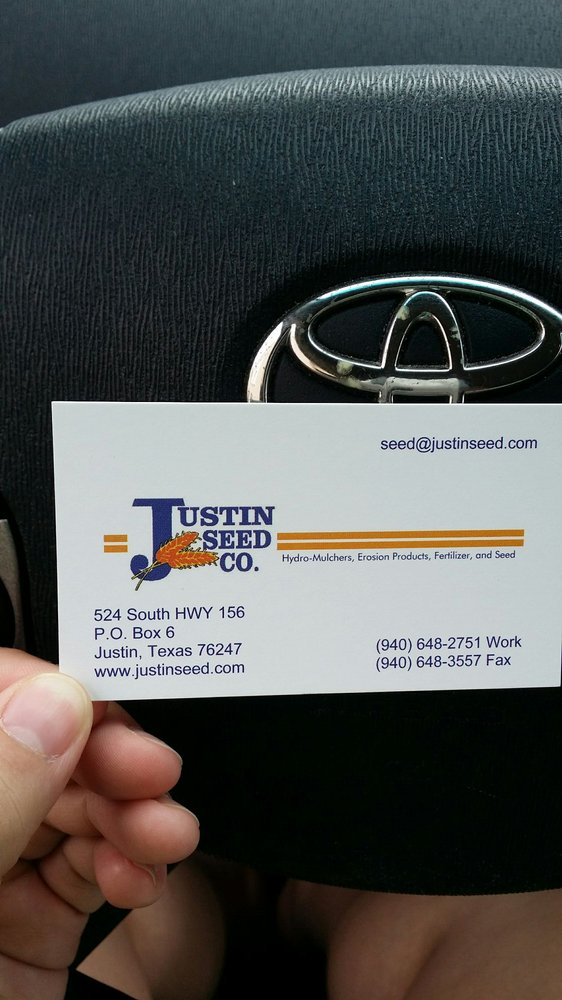 Justin Seed: 524 Hwy 156, Justin, TX