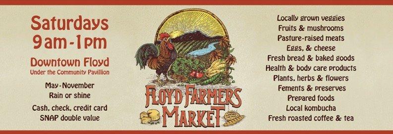Floyd Farmers Market: 203 S Locust St, Floyd, VA