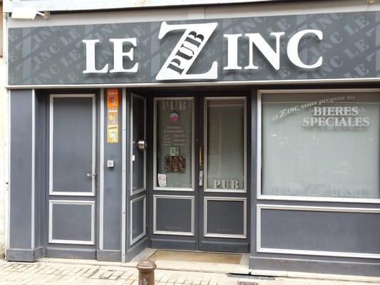 le zinc pubs 30 rue saint jean laon aisne france. Black Bedroom Furniture Sets. Home Design Ideas