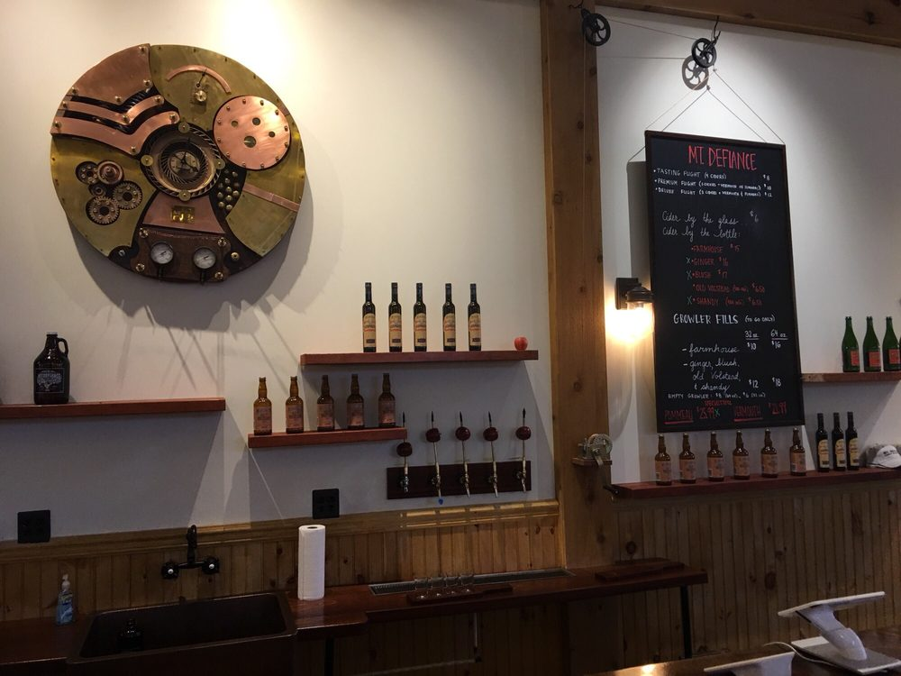 Mt Defiance Cidery & Distillery: 207 W Washington St, Middleburg, VA