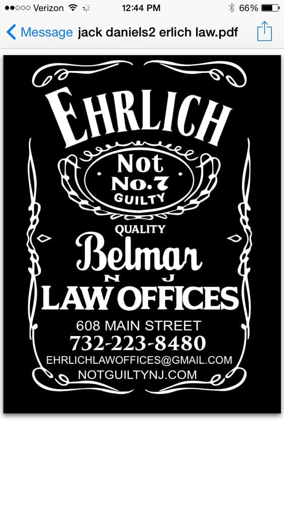 Ehrlich Law Offices: 608 Main St, Belmar, NJ