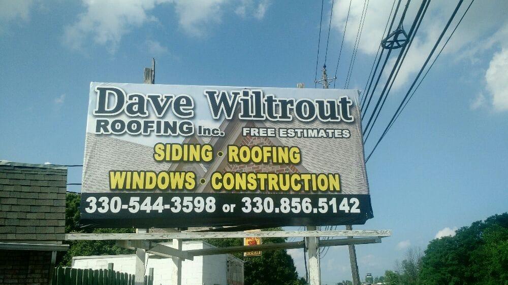 Dave Wiltrout Roofing: 976 Deforest Rd SE, Warren, OH