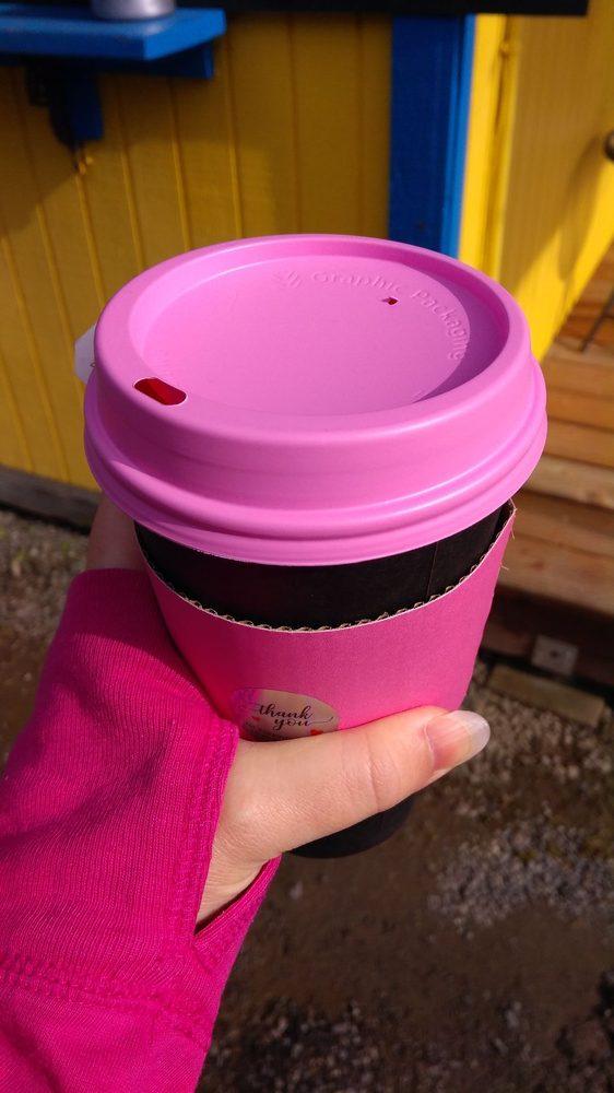 Strait Shots Espresso: 17295 Hwy 112, Clallam Bay, WA