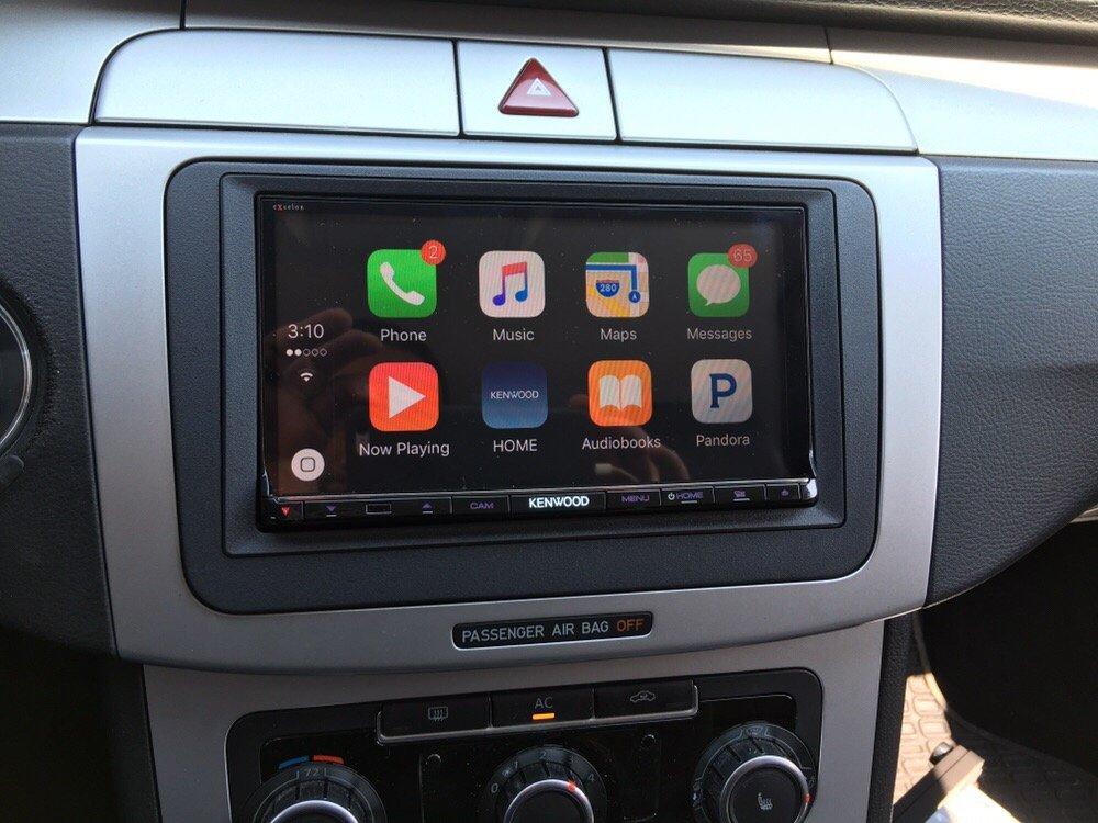 2012 VW CC kenwood excelon CarPlay app radio - Yelp