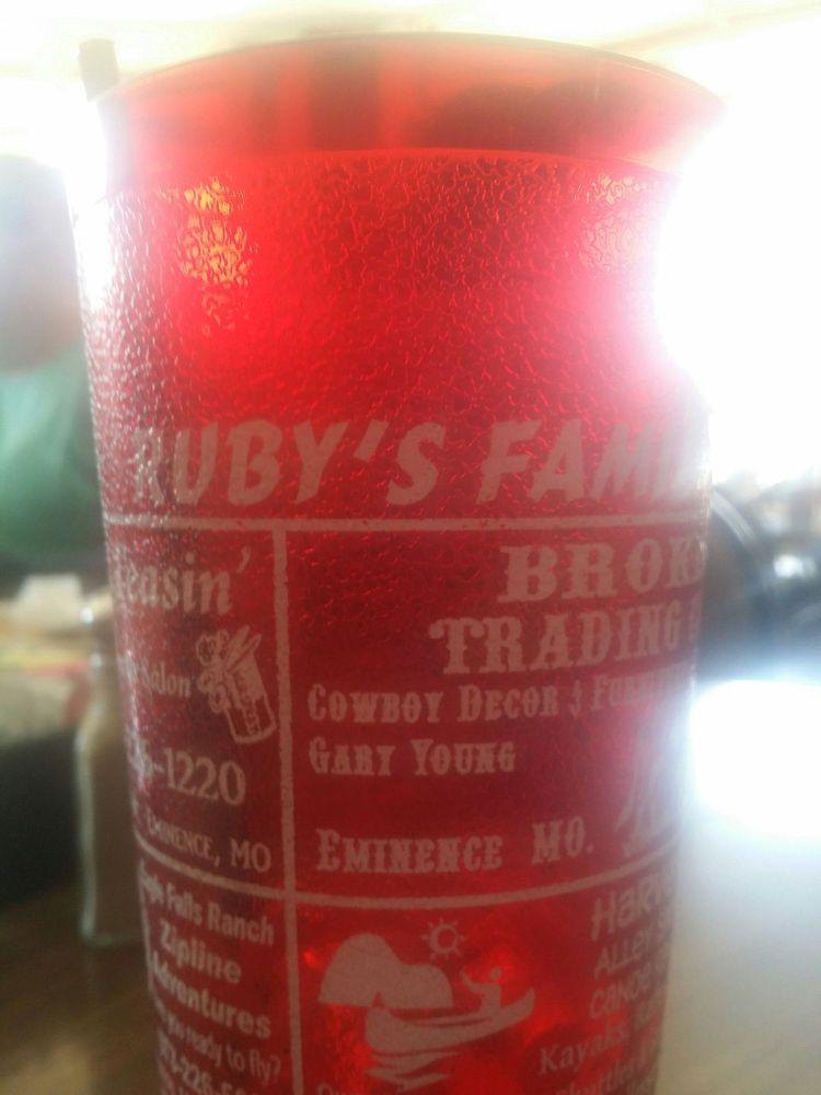 Ruby's T & T Family Restaurant: 408 S Main, Eminence, MO