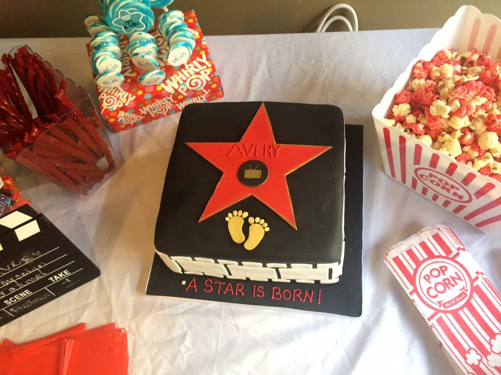 Hollywood Star Cake Made By Icing Cake Design For Movie Premiere
