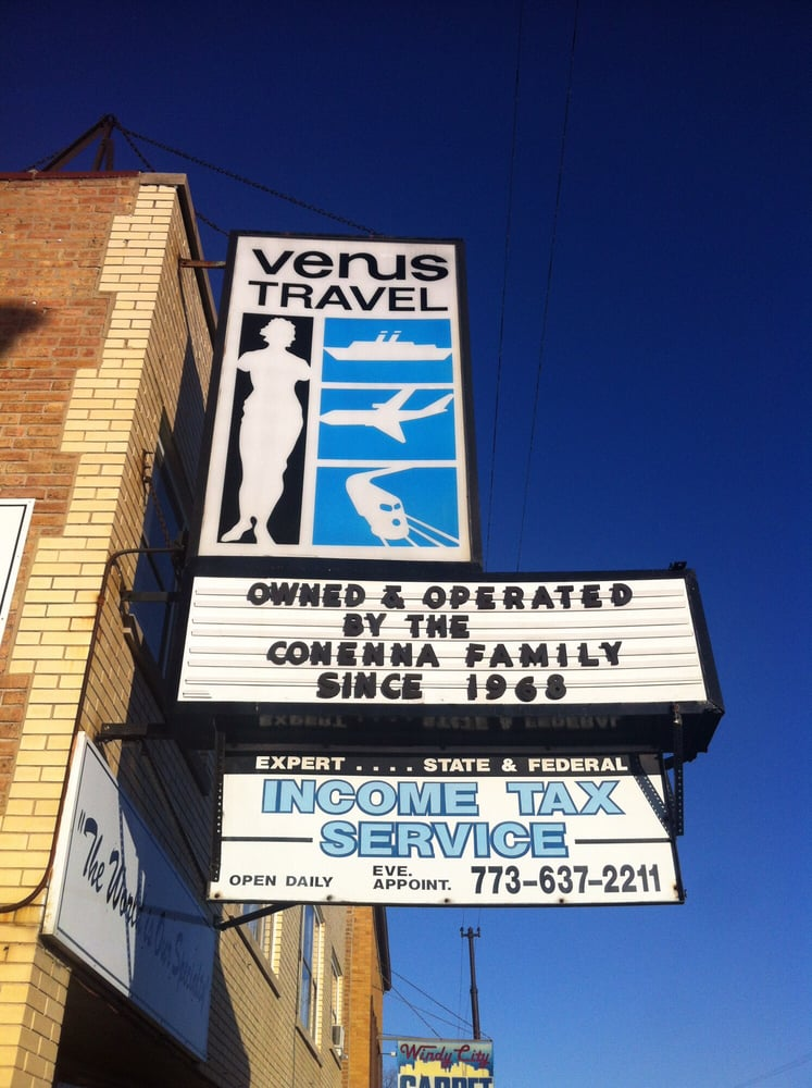 Venus Travel: 7418 W Belmont Ave, Chicago, IL
