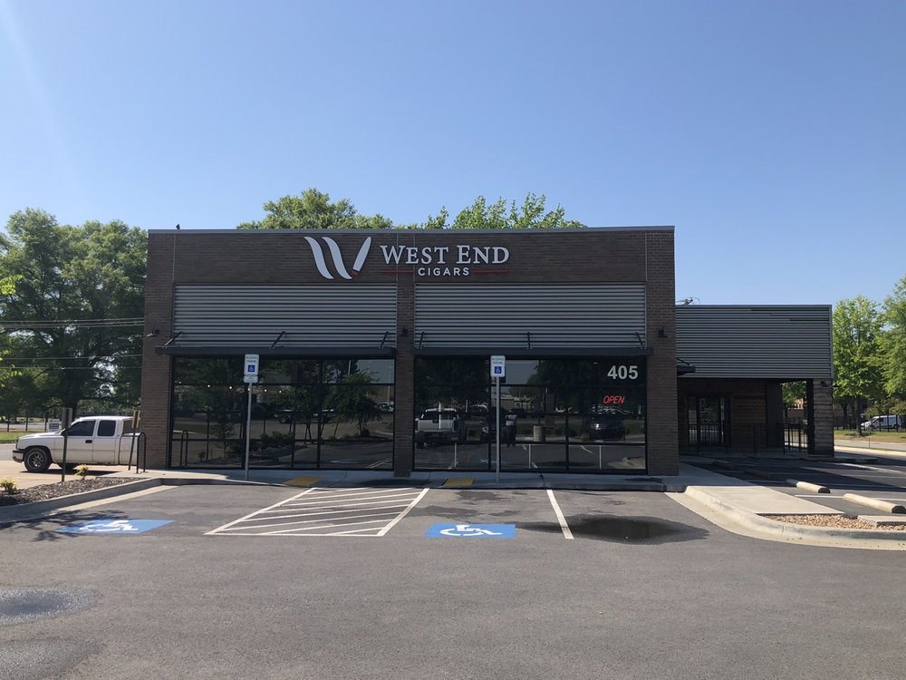 West End Cigars: 405 E Dave Ward Dr, Conway, AR