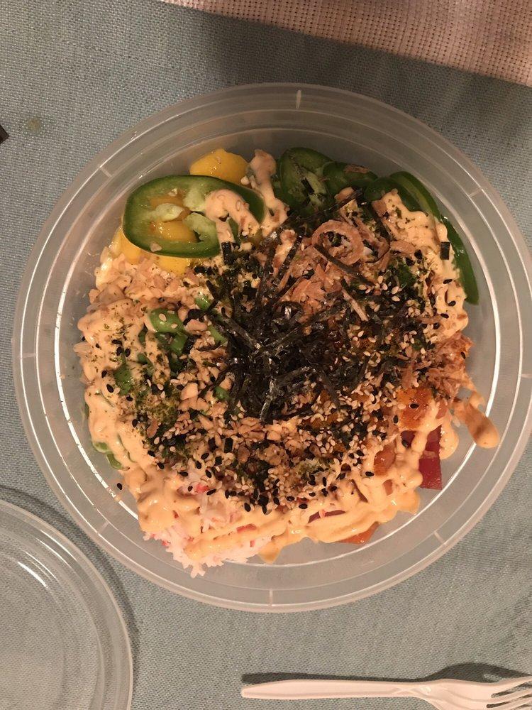 Food from Yum! Poké