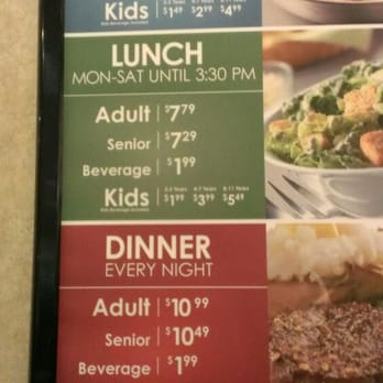 Up to date Hometown Buffet prices and menu, including breakfast, dinner, kid's meal and more. Find your favorite food and enjoy your meal/5().