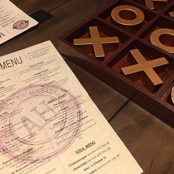 American Heritage Restaurant Encino Menu